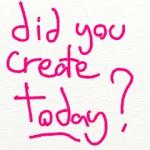 did you create