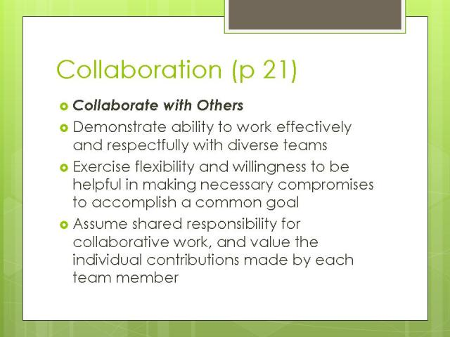 Collaboration p21
