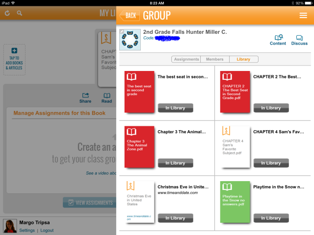 0 Groups Members and Library faded code